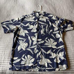 Polo by Ralph Lauren Linen Floral Button up Shirt